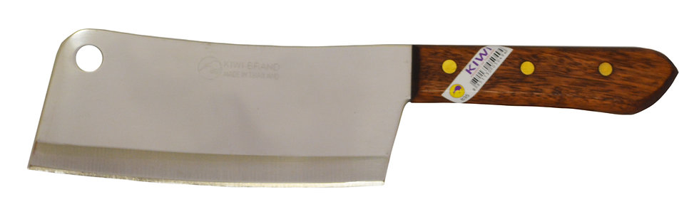 KIWI STAINLESS STEEL KNIFE,  ITEM#  00801413,  不鏽鋼泰國切菜刀 /厨房用刀
