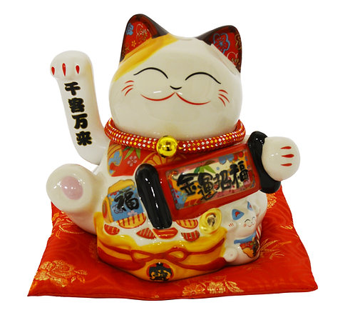 "#808426 LUCKY CAT-8""(35863) 招財貓"