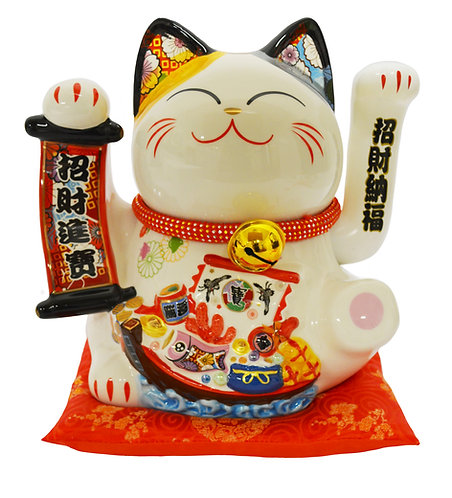 """#808451 LUCKY CAT-14""""(35128)  招財貓(1 PCS)"""