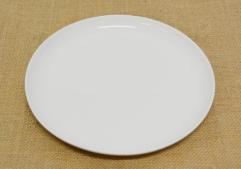 "8""  DEEP COUPE DINNER PLATE,ITEM#00802887,白色瓷盤(6 PCS)"