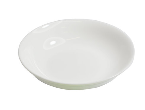 "#807236 SAUCE DISH-BONE CHINA-4"" 白色骨瓷醬料碟(12 PCS)"