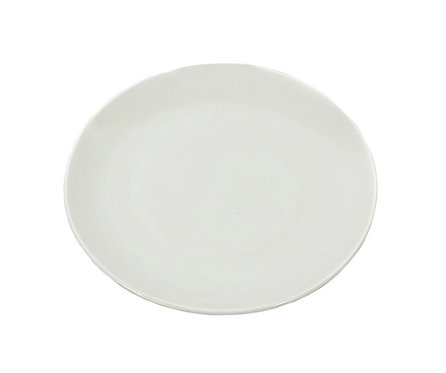 "#807211 PLATE-BONE CHINA-7"" 白色骨瓷盤(6 PCS)"