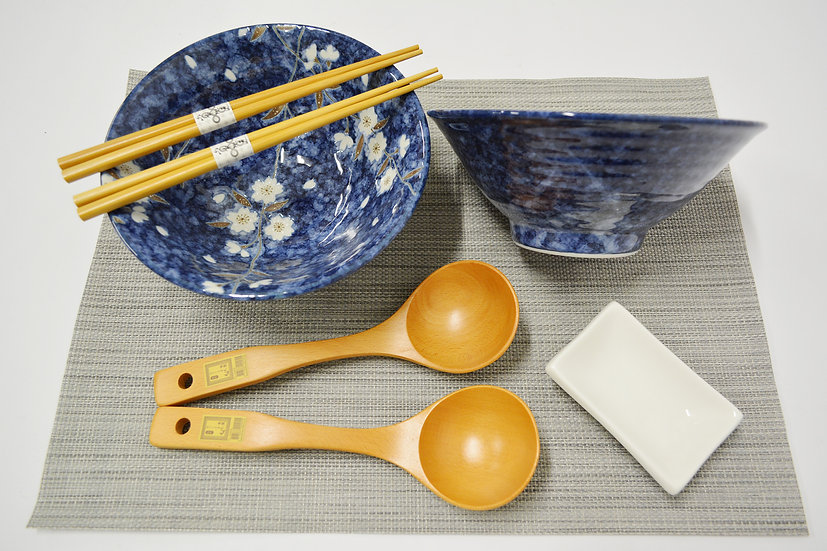 7-PIECES JAPANESE BOWLS COLLECTION/RAMEN NOODLE BOWLS, ITEM# AH028-7,日本瓷碗套裝組合