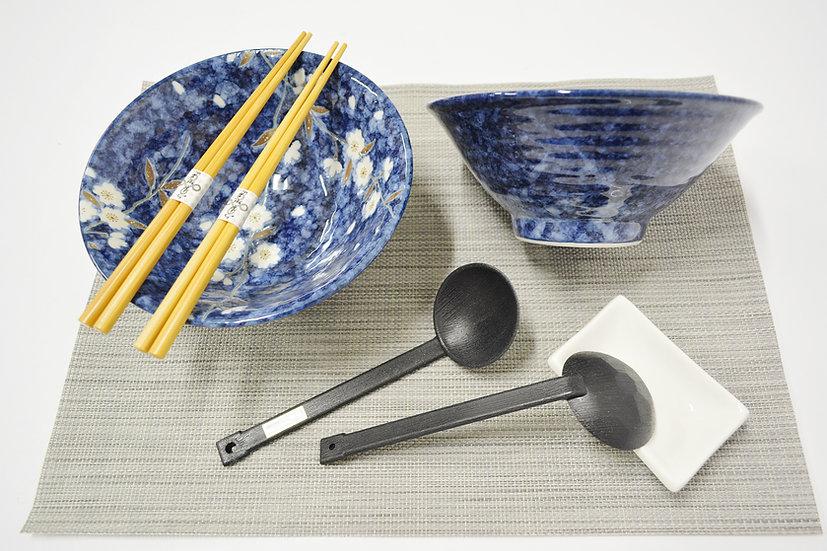 7-PIECES JAPANESE BOWLS COLLECTION/RAMEN NOODLE BOWLS, ITEM# AH028-7-1, 日本瓷碗套裝組合