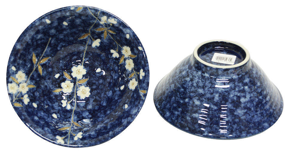 """JAPANESE DONBURI BOWL 6.5"""", ITEM#AH-028, 日本瓷碗 (4 PCS)"""