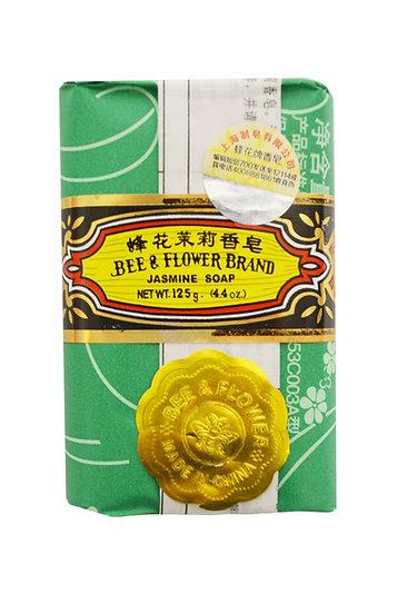 BEE & FLOWER JASMINE SOAP 125 G, ITEM# 00806501, 蜂花茉莉香皂(4 PCS)