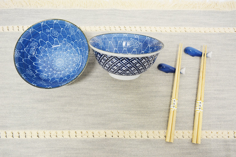 6-PIECES JAPANESE BOWLS COLLECTION,  ITEM#AG015-6, 日本瓷碗套裝組合