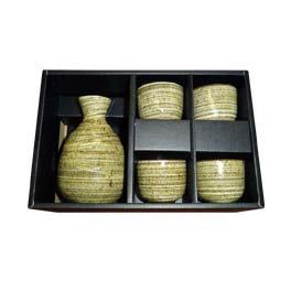 JAPANESE SAKE SET,  ITEM#  AE-015,   日本清酒杯具