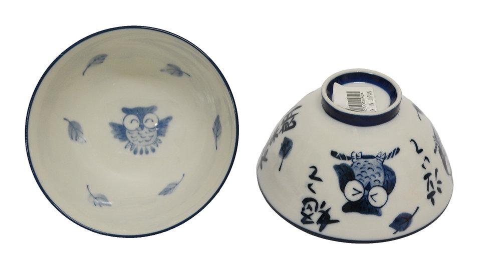 JAPANESE DONBURI BOWL - L ,ITEM#AH-006, 日本瓷碗 (5 PCS)