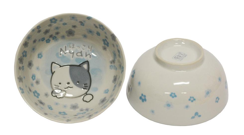 """5.5"""" JAPANESE DONBURI BOWL ,ITEM# AH-017,日本瓷碗(4 PCS)"""