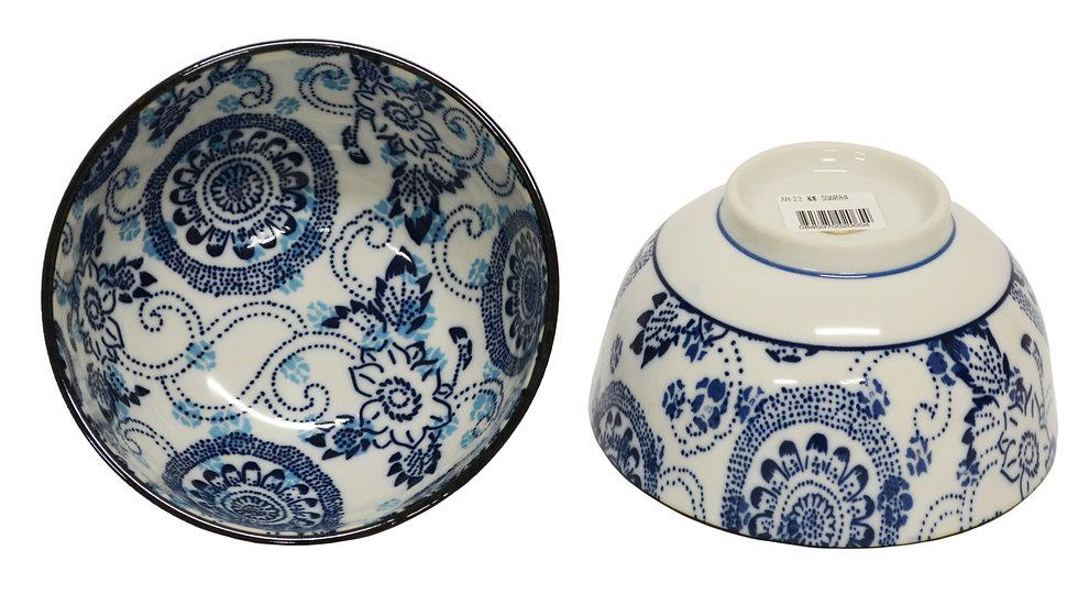 JAPANESE DONBURI BOWL, ITEM#AH-023, 日本瓷碗 (4 PCS)