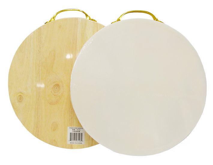 DOUBLE SIDE CUTTING BOARD -34 CM,ITEM#00803124,雙面切菜板(1 PCS)
