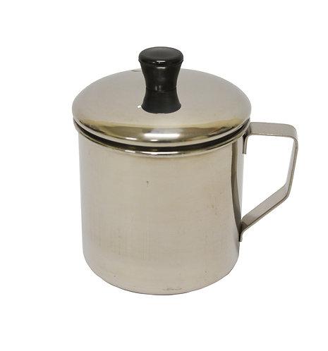 #800525 STAINLESS STEEL TEA CUP  -12 CM 不銹鋼口杯
