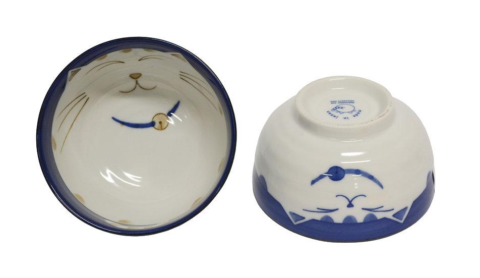 JAPANESE DONBURI BOWL,  4 PCS,  ITEM#  AE-069,    日本瓷碗 4 個