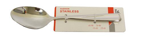 #801255 STAINLESS STEEL TEA SPOON-EXTRA HEAVY 不鏽鋼茶匙-特厚 (12 PCS)