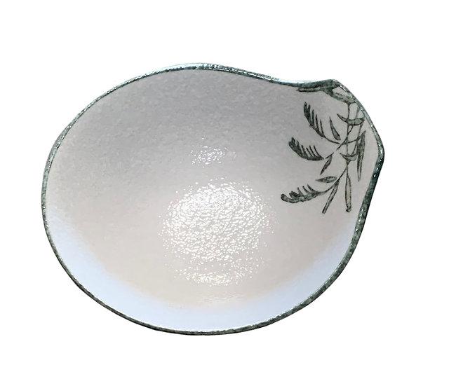 JAPANESE  LADLE BOWL,ITEM#A-024,日本瓷碗(4 PCS)