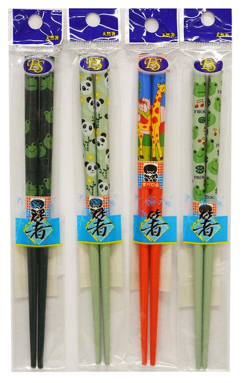#801968 BAMBOO CHOPSTICKS-1 PAIR  (小孩)天然竹筷