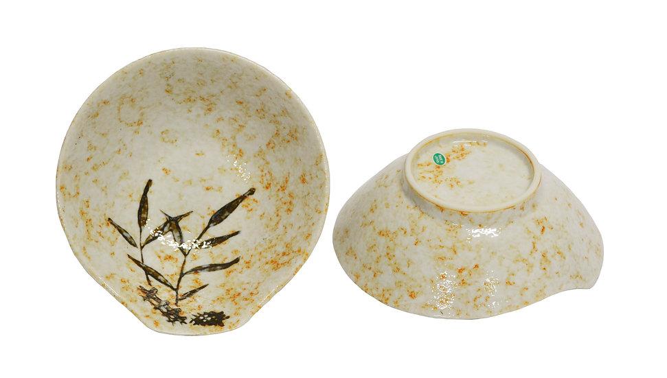JAPANESE  LADLE BOWL ,ITEM#A-009,日本瓷碗(4 PCS)