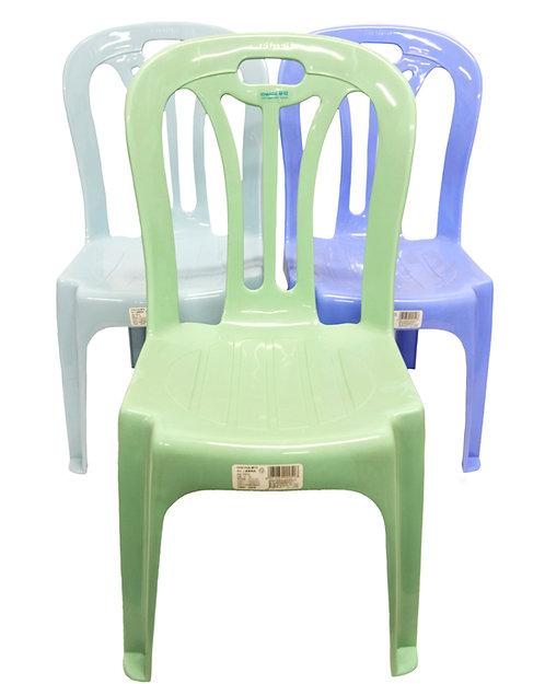 #805207 CHAHUA CHILDREN CHAIR-0805  塑膠兒童靠背椅