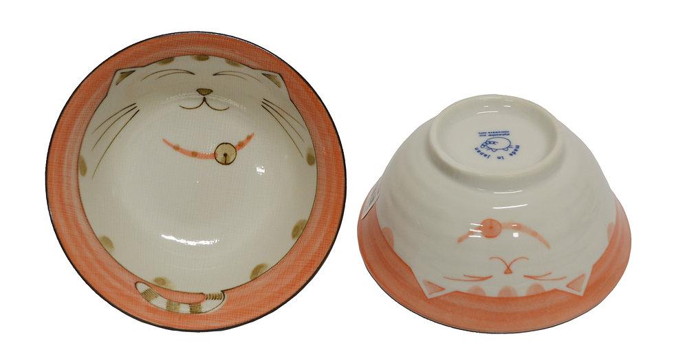 "6"" JAPANESE RICE BOWL, ITEM#AF-012, 日本瓷碗 (4 PCS)"