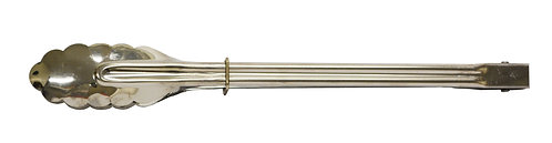 """#801511 STAINLESS STEEL KITCHEN TONG -12""""不鏽鋼食物夾"""
