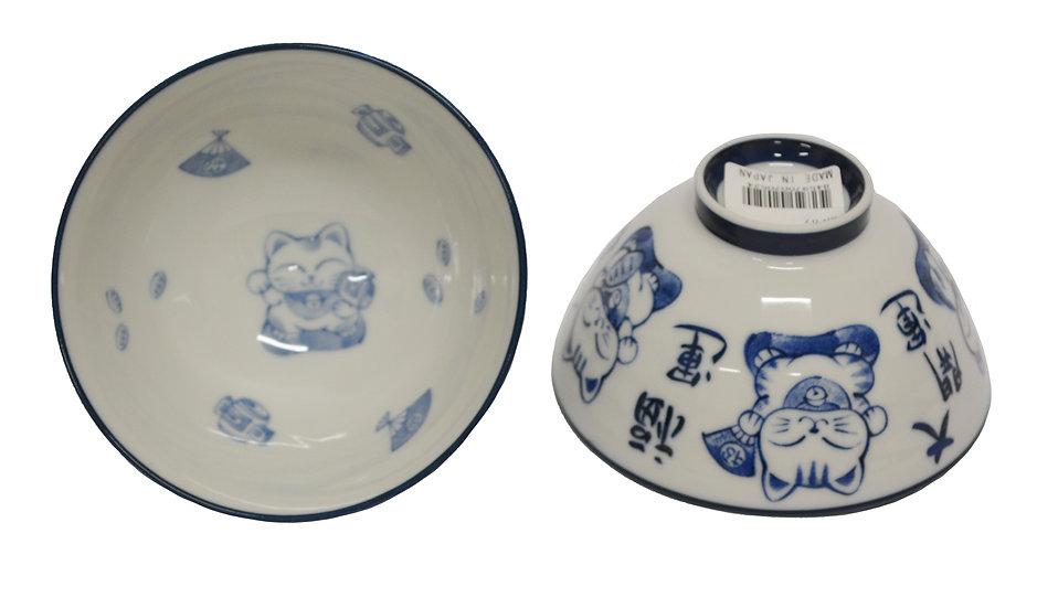 JAPANESE DONBURI BOWL - L ITEM# AH-007,日本瓷碗(5 PCS)