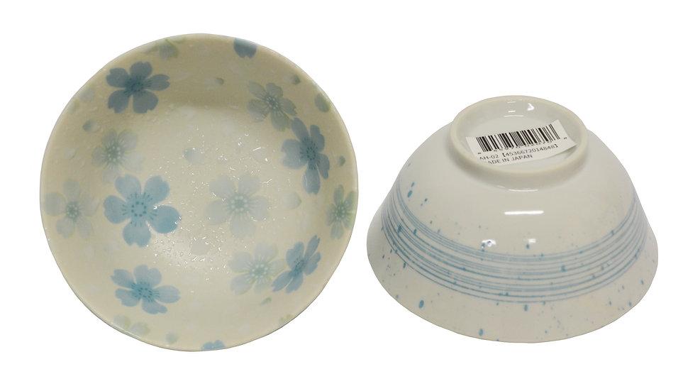"""4.8"""" JAPANESE DONBURI BOWL, ITEM#AH-002,日本瓷碗(5 PCS)"""