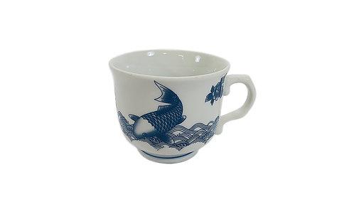 #802946 TEA CUP-FISH 魚茶杯含把手(8 PCS)