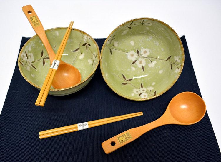 6-PIECES JAPANESE BOWLS COLLECTION/RAMEN NOODLE BOWLS, ITEM# AH029-6, 日本瓷碗套裝組合