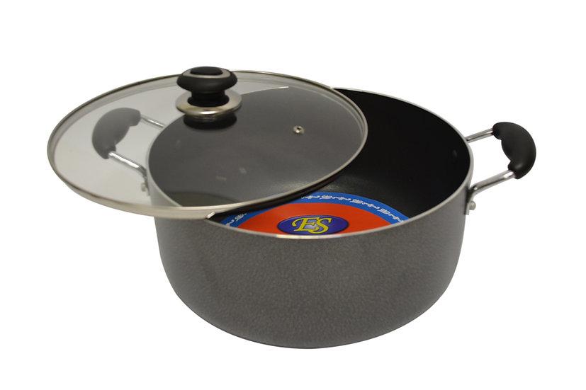 30CM NON-STICK COOKING POT,  ITEM#00800023,   不粘雙耳湯鍋