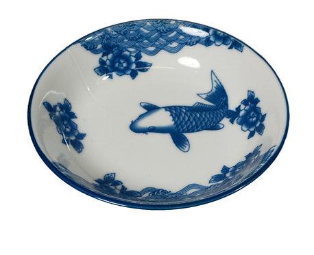 "#802936 SAUCE DISH-FISH-3.87"" 魚醬料碟(12 PCS)"