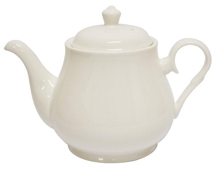 """8.5""""  TEA POT,   ITEM#  00802841    白瓷水壺"""