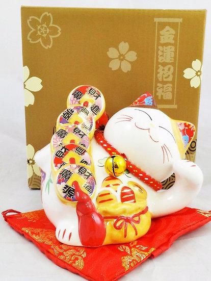 "Japanese Lucky Cat Coin Bank Style Token-3""(35312),ITEM#00808411,招財貓(1 PCS)"