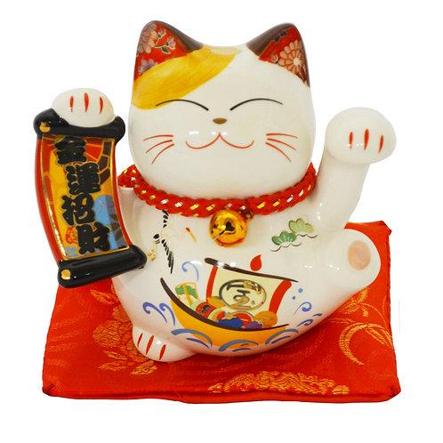 """#808417 LUCKY CAT(PIGGY BANK)-3"""" (35318) 招財貓錢罐"""