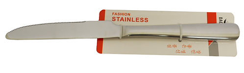 #801250 STAINLESS STEEL KNIFE-EXTRA HEAVY 不鏽鋼餐刀-特厚(12 PCS)