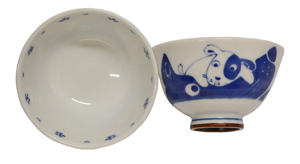 JAPANESE ETO RICE  BOWL , ITEM# AG-011, 日本瓷碗(4PCS)