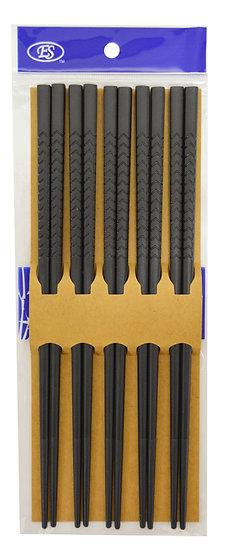 BLACK CHOPSTICKS, 10 PAIRS, ITEM# 801940,黑筷子10雙