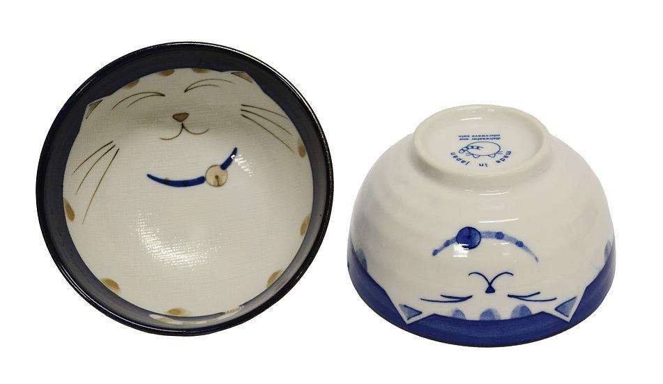 """JAPANESE DONBURI BOWL - 6"""", 2 PCS, ITEM#AE-054, 日本瓷碗 2 個"""