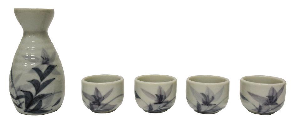 JAPANESE SAKE SET,  ITEM#  J266-405-26,    日本清酒杯具