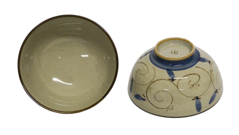 JAPANESE  RICE  BOWL, 4 PCS, ITEM#AE-046,日本瓷碗/飯碗 4 個