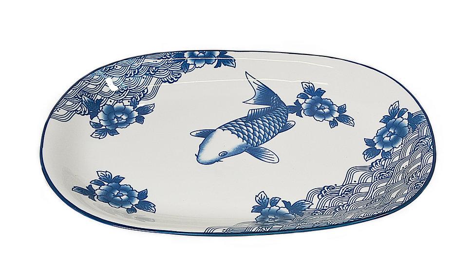 "12""  DEEP PLATE,ITEM#00802926,日常魚盤(3 PCS)"