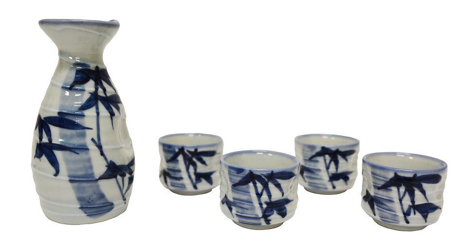 JAPANESE SAKE SET,  ITEM#  J268-109-57,    日本清酒杯具
