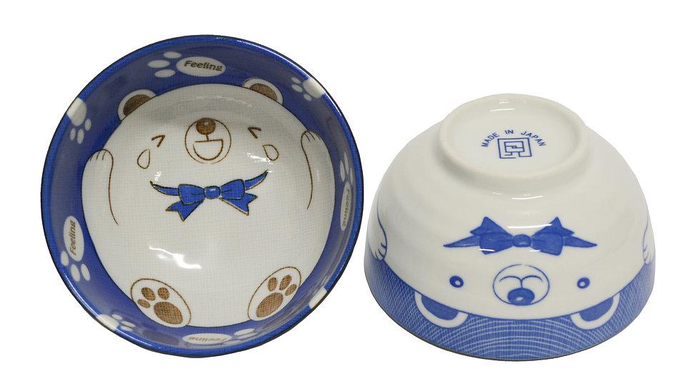"""JAPANESE DONBURI BOWL - 6"""", 2 PCS, ITEM#AE-063, 日本瓷碗 2 個"""