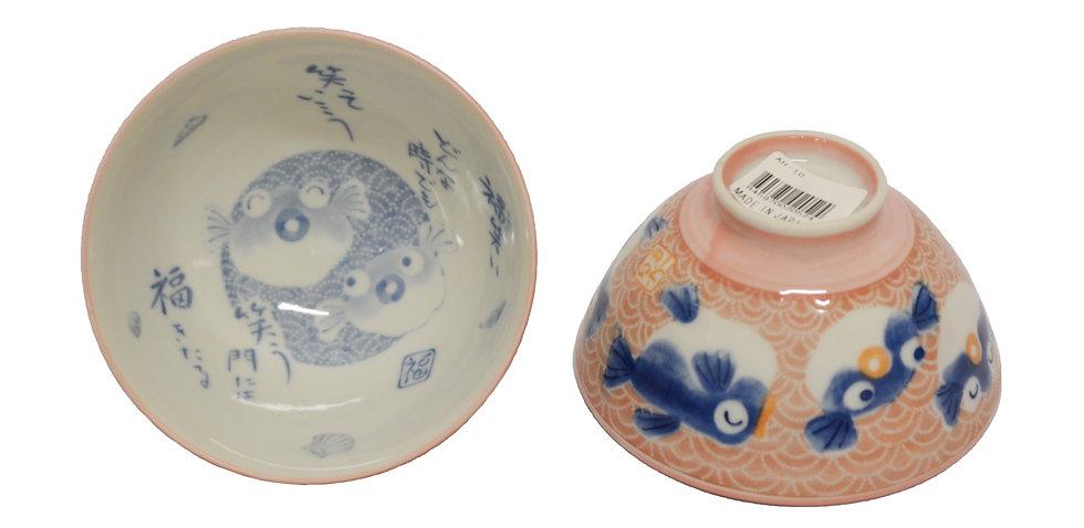 JAPANESE DONBURI BOWL-L ,ITEM#AH-010,日本瓷碗(4PCS)