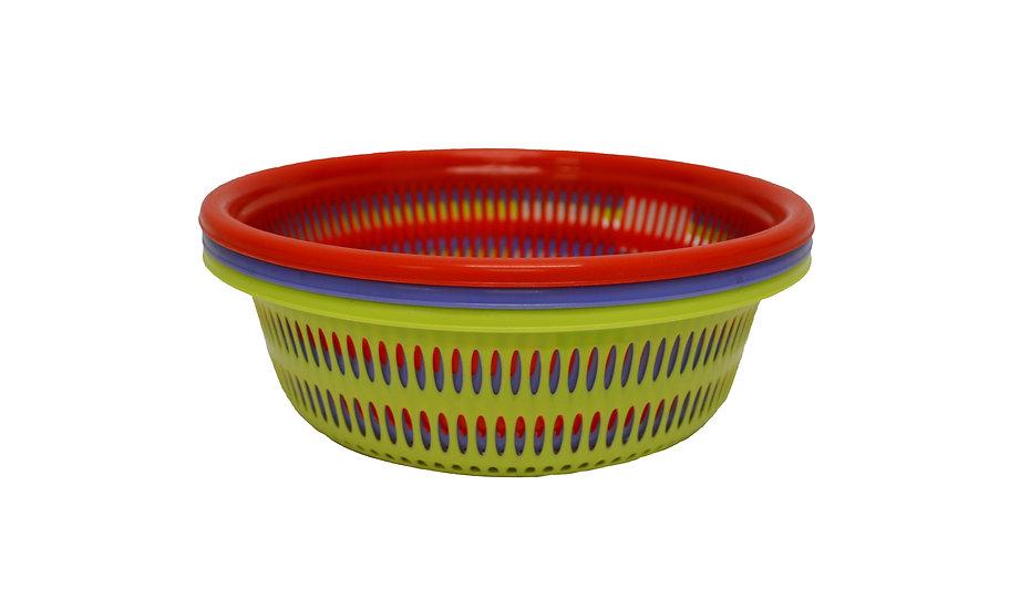 26 CM PLASITC COLANDER,   ITEM# 00803164,    洗菜籃