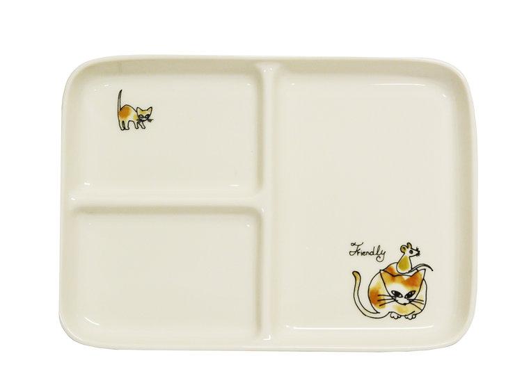 JAPANESE DISH PLATE, 2 PCS, ITEM#AC-011, 日本餐盤 2 個