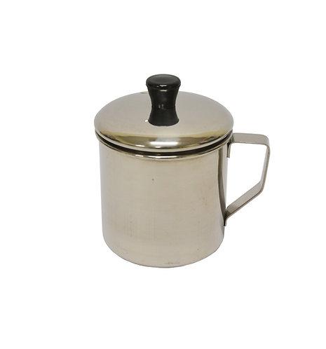 #800523 STAINLESS STEEL TEA CUP -10 CM  不銹鋼口杯