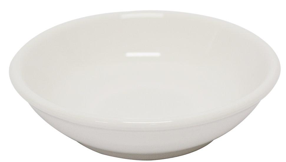 "4""  SAUCE DISH-WHITE, 12 PCS, ITEM# 802836, 白瓷調味料碟子12個"