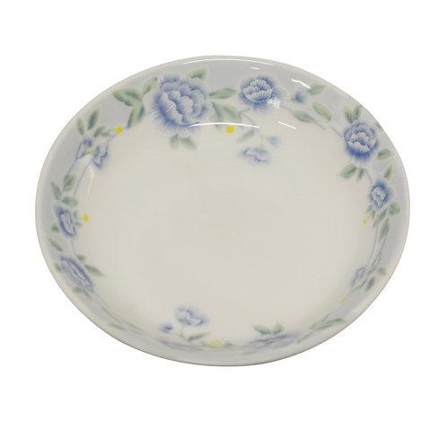 """#802335 SAUCE DISH-BLUE PEONY-2.75"""" 藍牡丹醬料碟"""