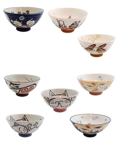 Japanese Rice Bowl AE110- AE115